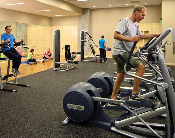 City Creek Condo Fitness Center