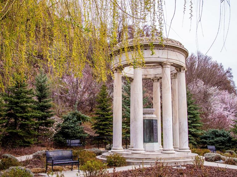 Experience Downtown Salt Lake with a condo steps away from Memory Grove Park