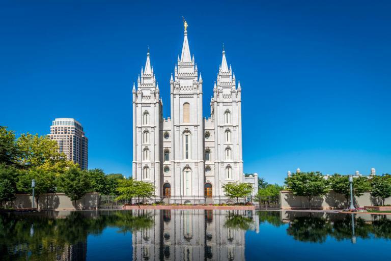 Urban Living Salt Lake City With Views over the Salt Lake Temple
