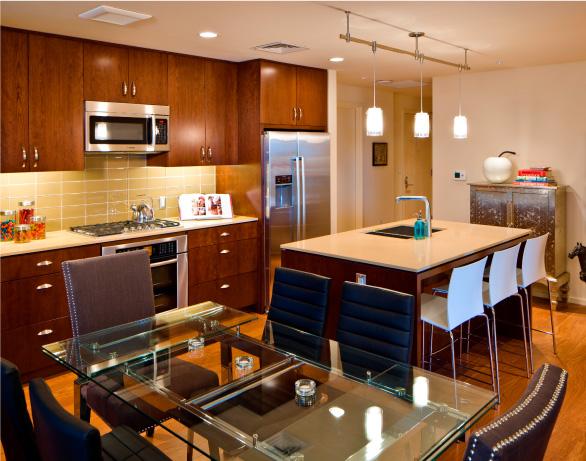 The Regent Kitchens High Rise Condo Salt Lake