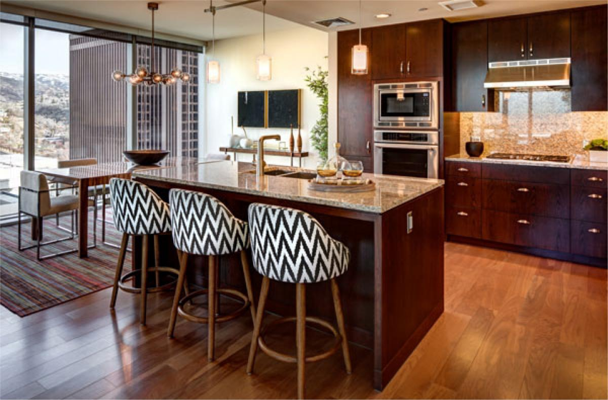 The Regent Luxury Salt Lake Kitchens